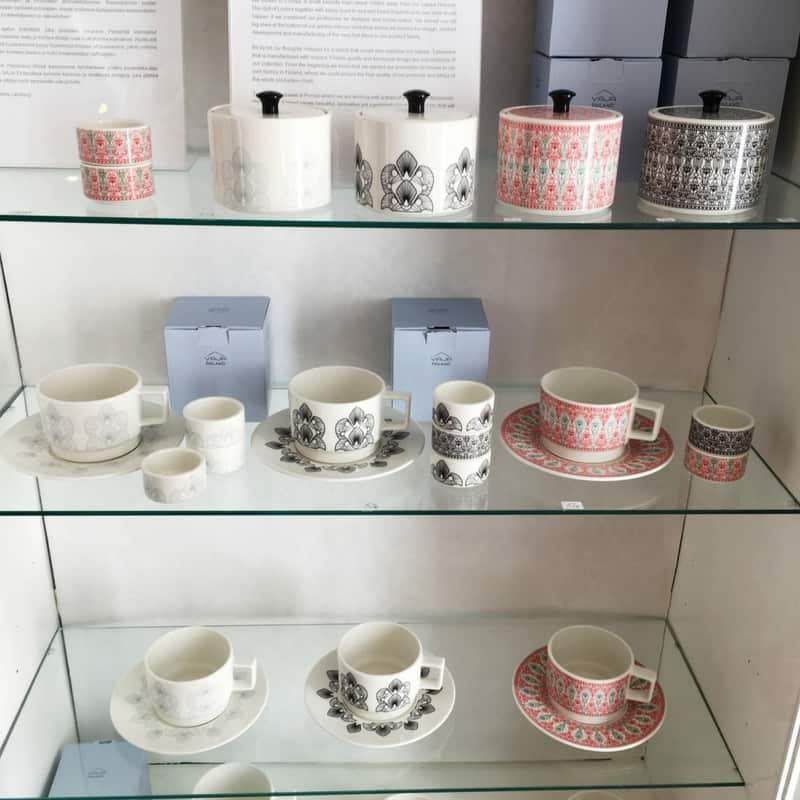Porvoo, Finland, is the home of Finnish ceramics called Vaja