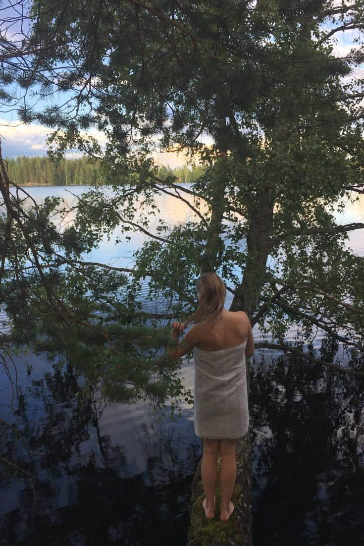 sexy nude sauna
