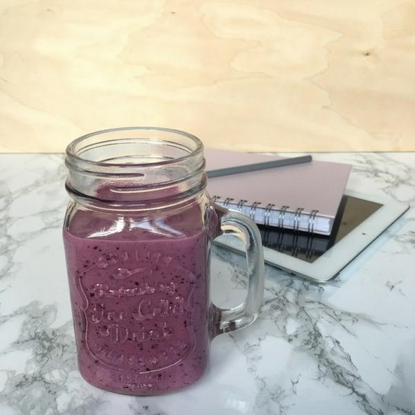 Modern breakfast smoothie for busy Finns