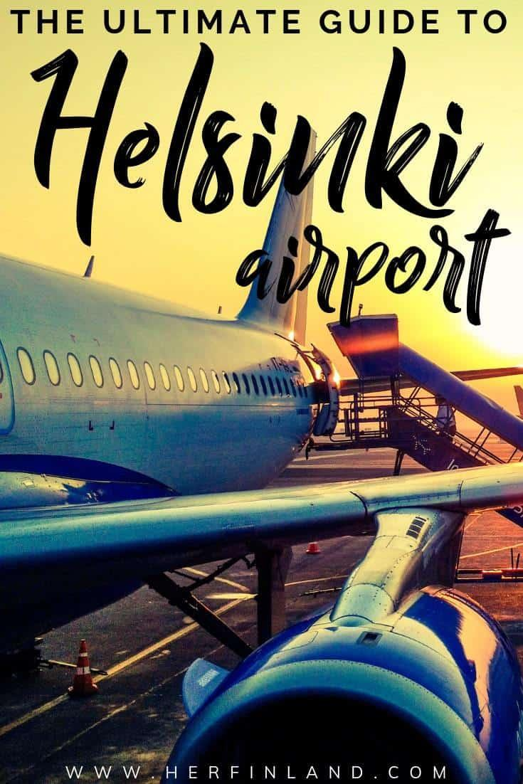 Here are the best tips by a local and a frequent flyer for Helsinki Airport! #helsinki #helsinkiairport