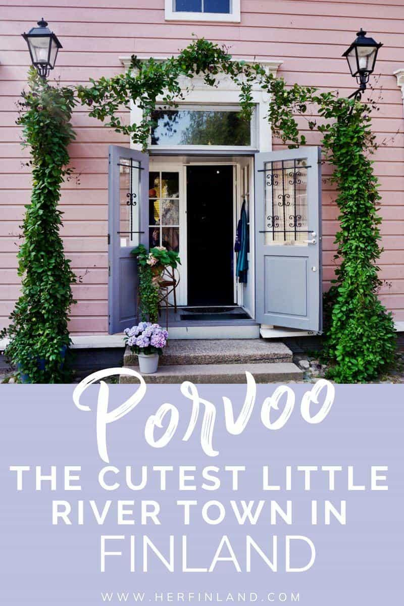 Porvoo Finland is the cutest little river town super close to Helsinki and so worth a visit!