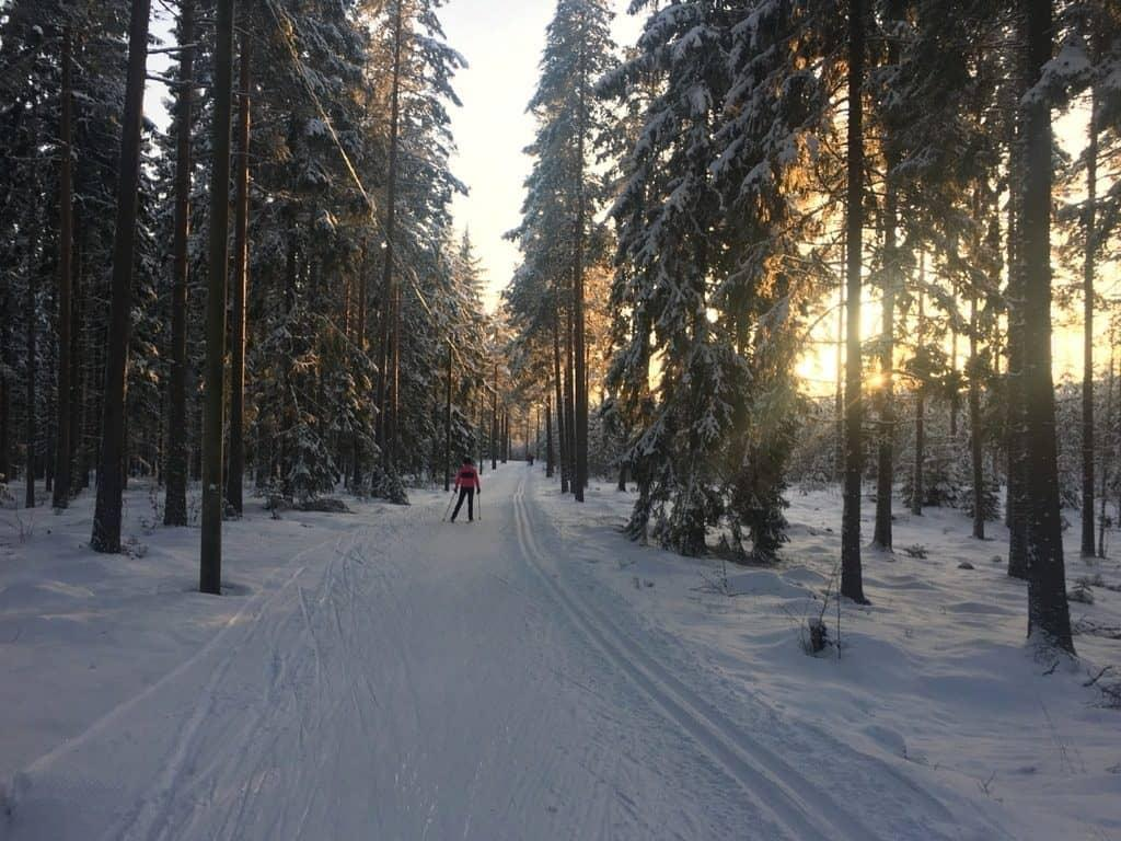Weather in Finland by month: Perfect winter weather in February - Her Finland