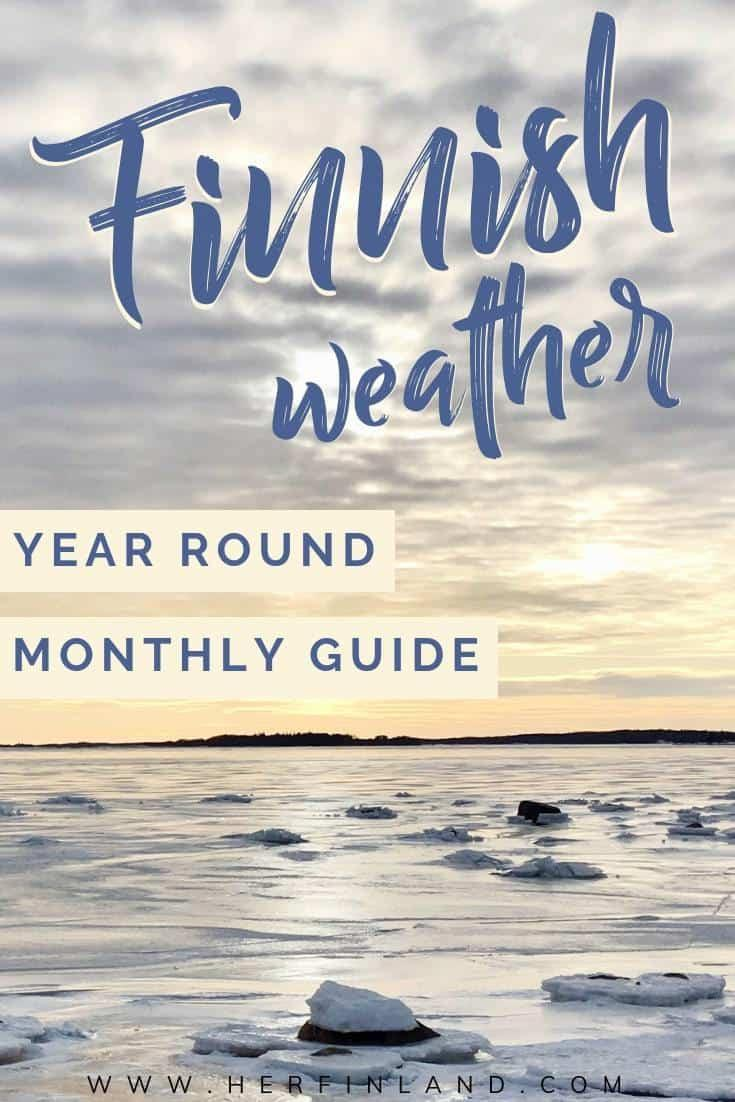 Here are great Finland weather year round tips to help plan your visit to Finland! #Finland #weather
