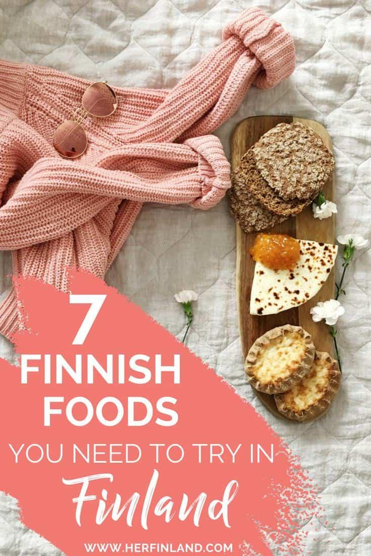 Here are wonderful Finnish foods you should buy in Finland! #finnishfood