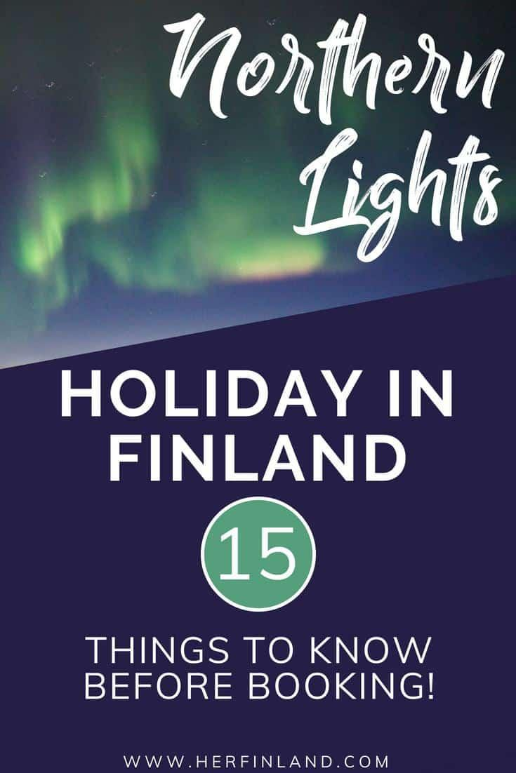 Plan amazing Northern Lights holidays in Finland and see beautiful Auroras!
