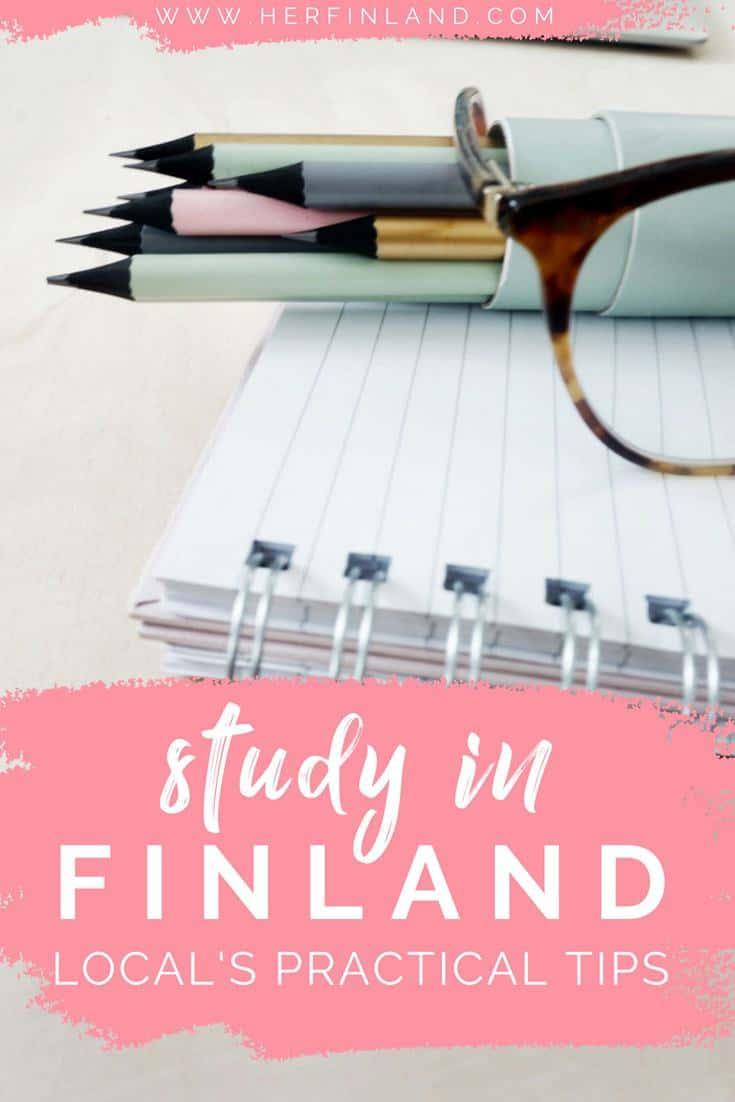 What's it like to study in Finland and how to apply? This article tells it all! #finnisheducation #finlandeducation