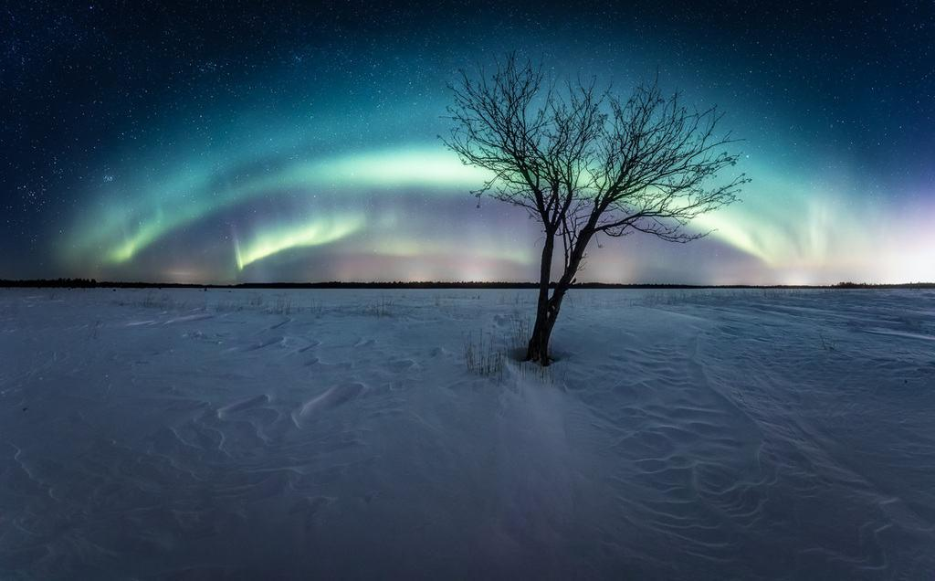 Lapland holidays offer scenic night views with northern lights!