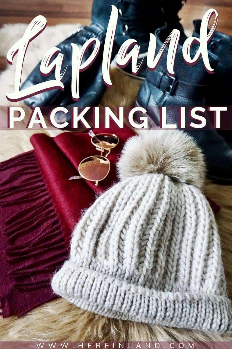 Lapland packing list by a local! This helpful article has all the things you need to be toasty warm on your Lapland holiday! #lapland