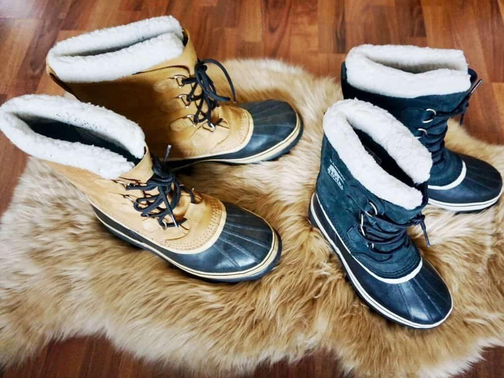 lapland packing list with snow boots recommendations