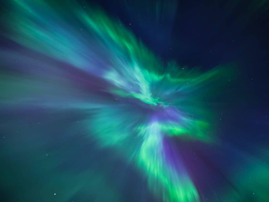 lapland pictures northern lights by Her Finland blog