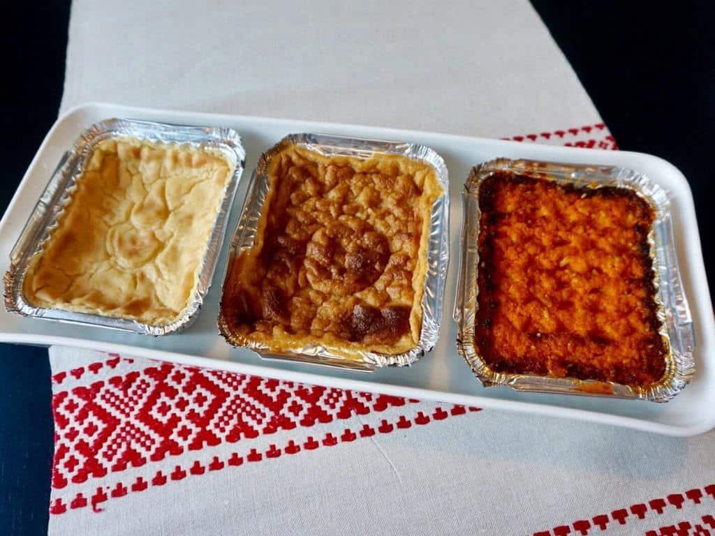 Finnish Christmas Foods come in a variety of dishes! Favorite main dishes include vegetable casseroles. #christmas #finland