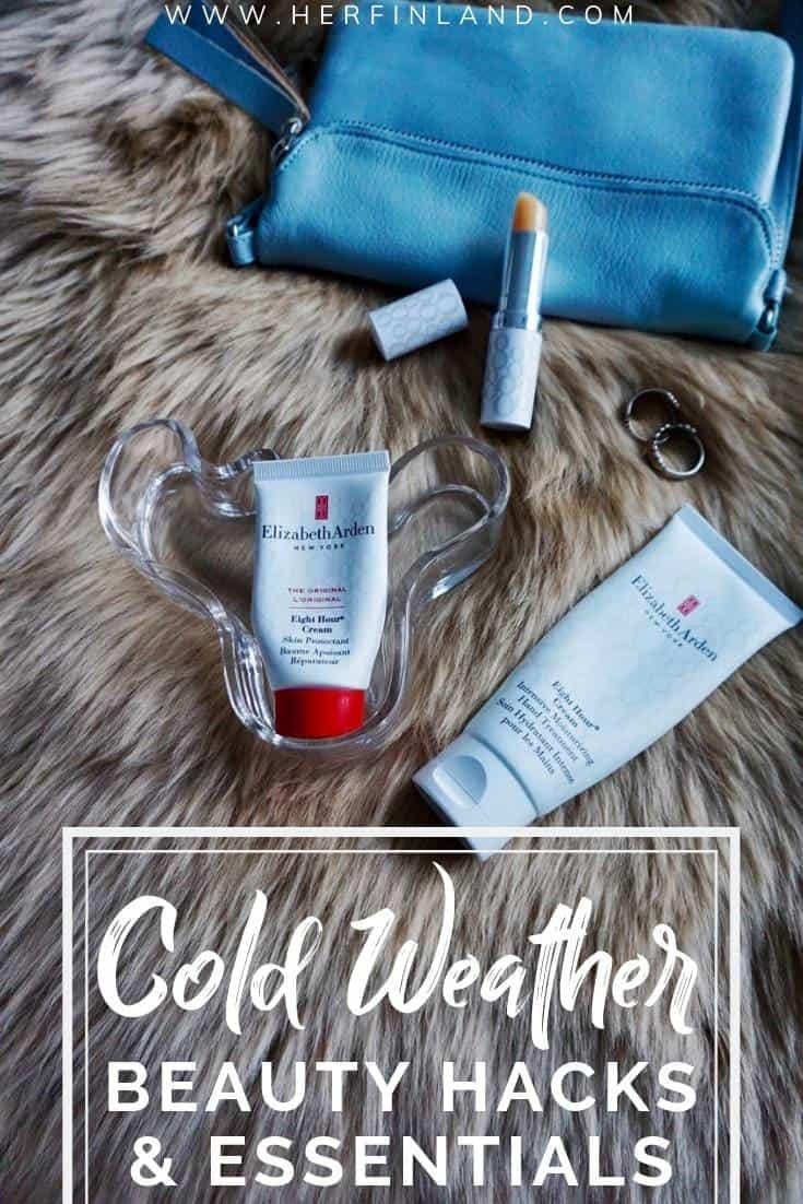 These cold weather beauty tips are a must when preparing a trip to winter weather! #coldweatherbeauty #winterbeauty