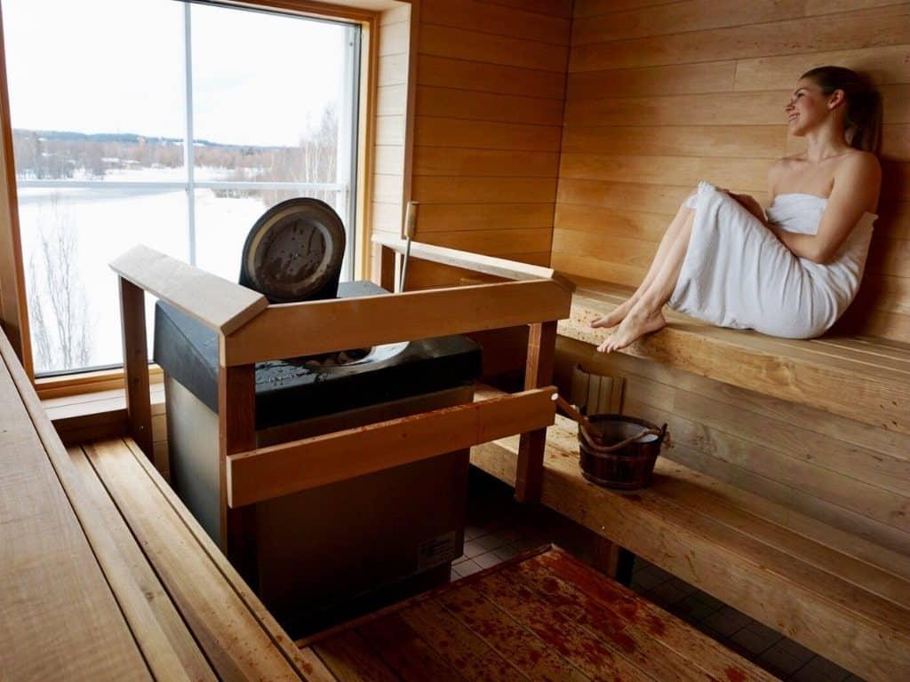 Finnish sauna rules by Her Finland blog