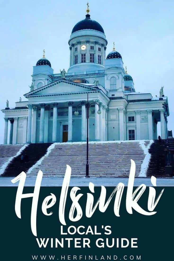 Helsinki in winter is a fantastic place! Discover all the heavenly delicious and wonderfully adventurous things to do in winter Helsinki, brought to you by a local! #helsinkiwinter #helsinkithingstodo