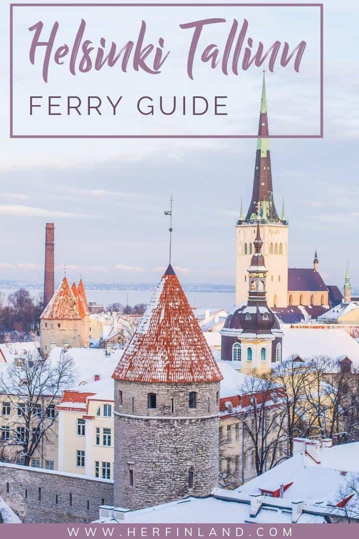 Here are the best tips by a local for booking a Helsinki Tallinn ferry! #helsinkitravel #tallinntravel