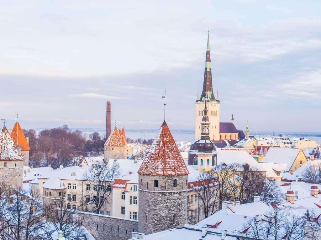 Visit Tallinn Old town from Helsinki by Ferry