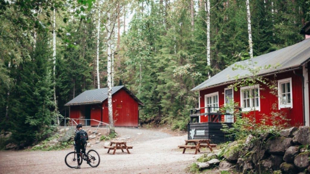 nuuksio national park wilderness cafe