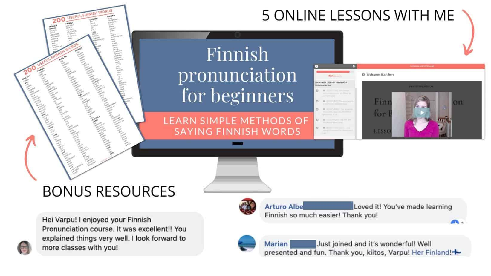 Free Finnish online course