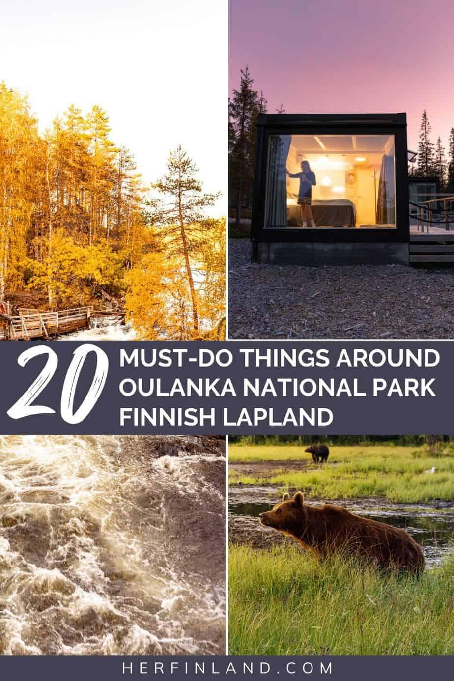 Oulanka National Park tips in Finnish Lapland