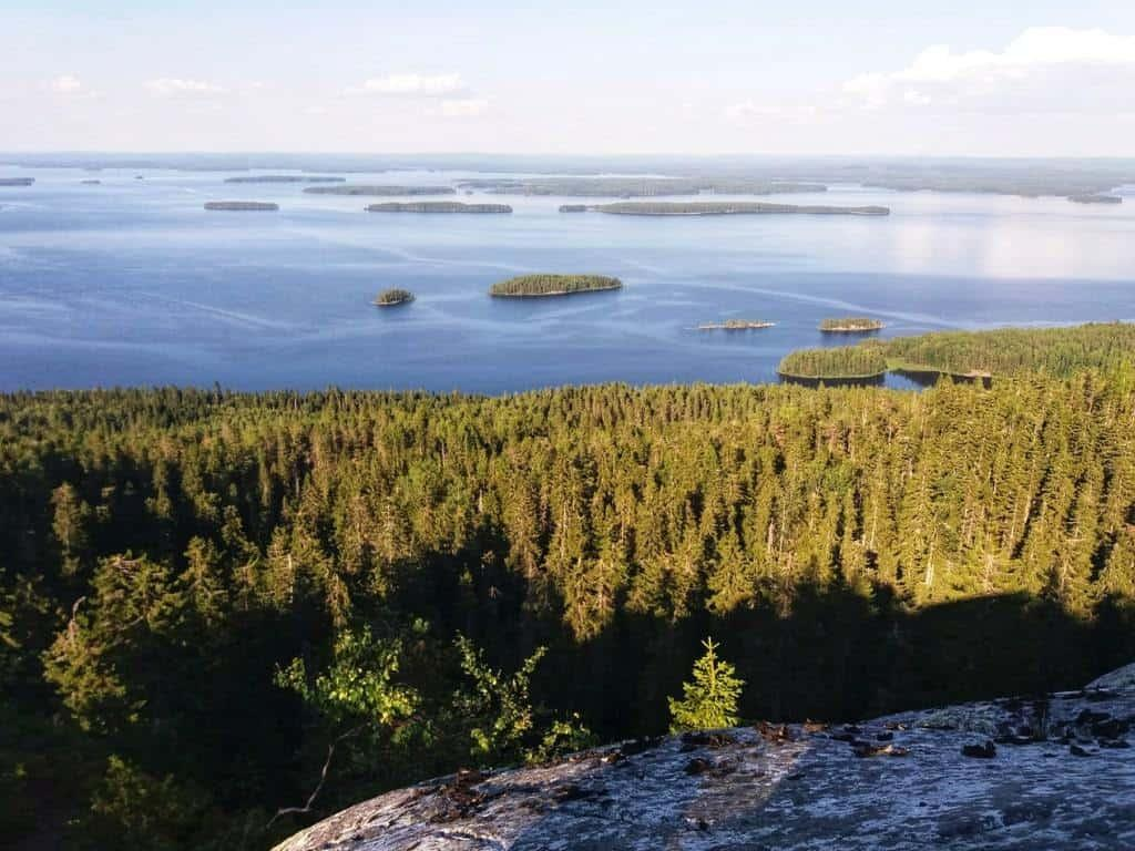 Finland is beautiful in the summer. A hike is a must!
