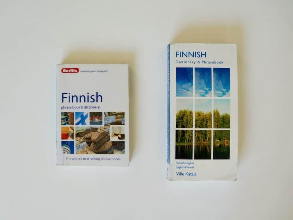 finnish dictionary and phrasebook