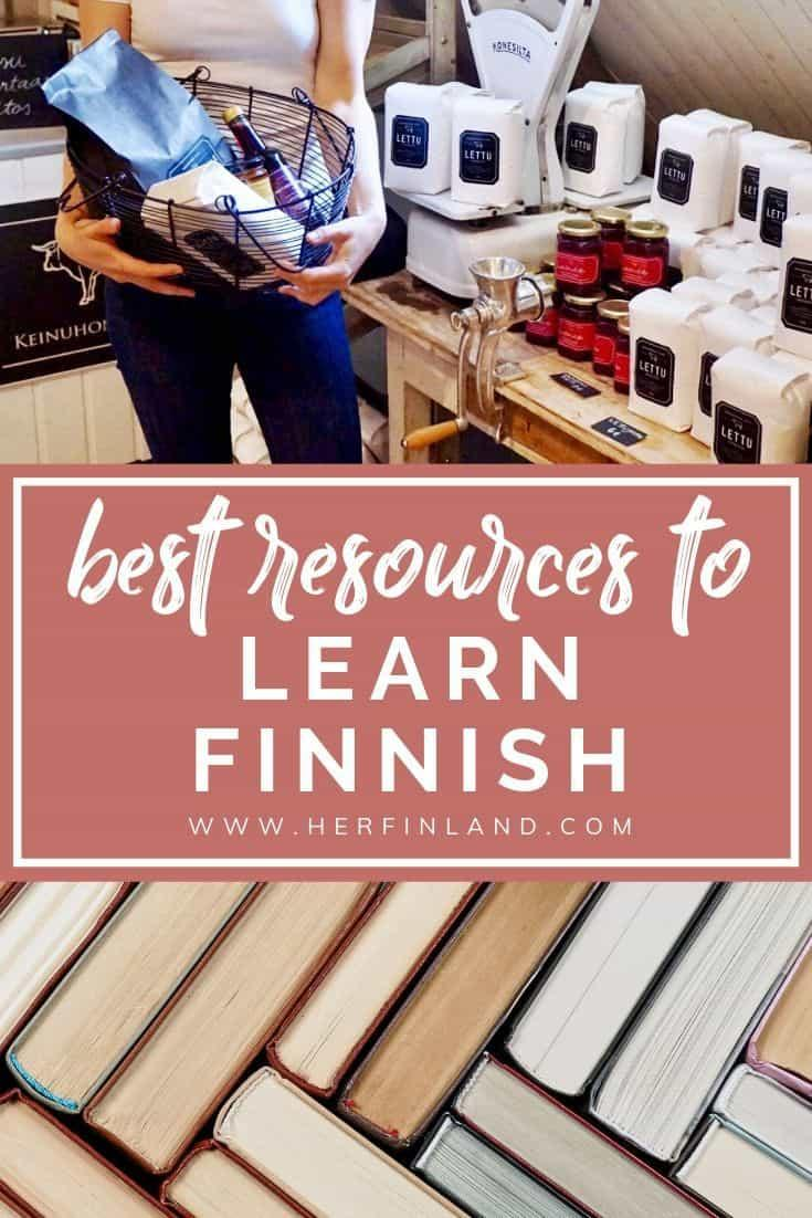 Best Finnish language learning books, courses and apps! #finnishlanguage