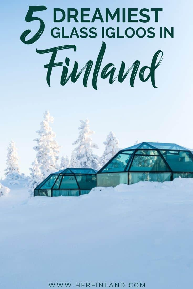 Glass igloos in Finland are a once-in-a-lifetime experience! Here are local's helpful tips you should read before booking! #glassigloo #glassigloofinland