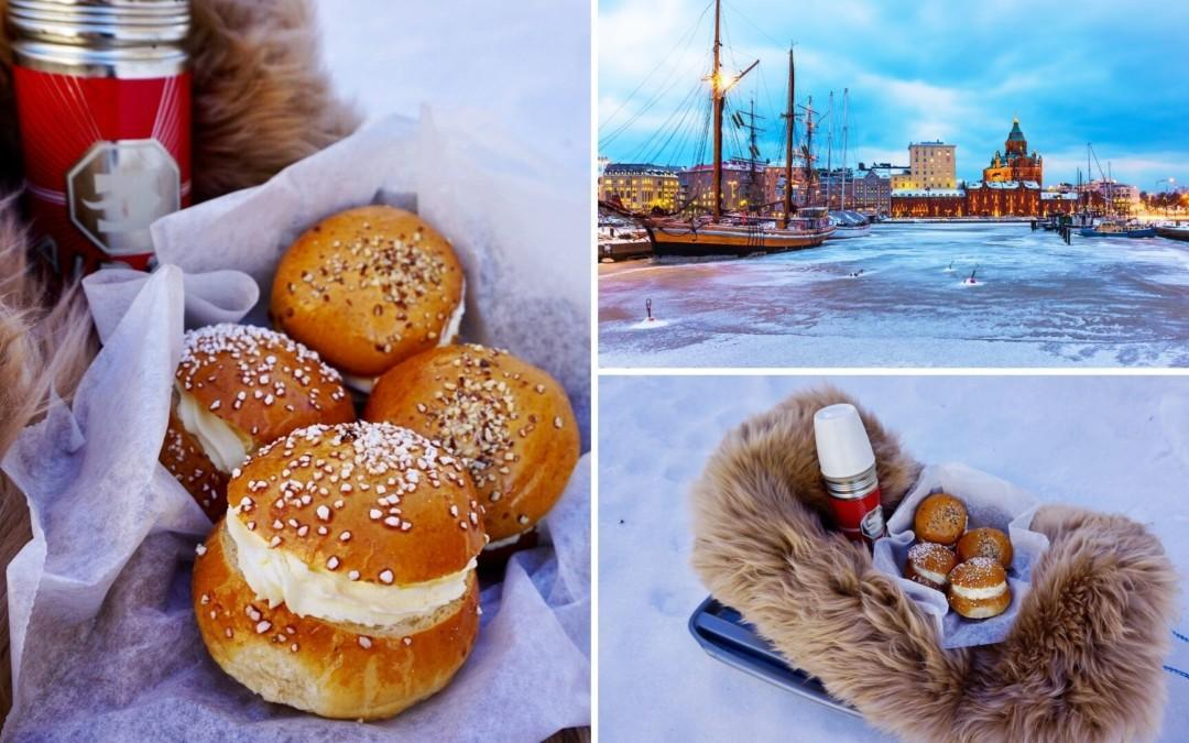 Shrovetide buns recipe from Finland