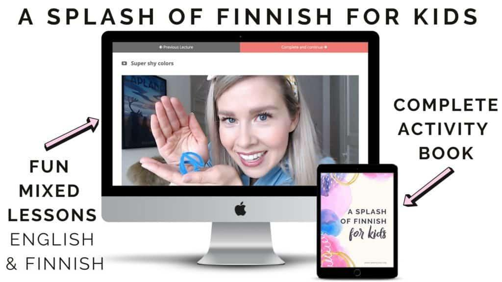 Finnish for kids online course