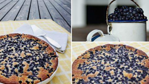 Fabulous Finnish Blueberry Pie: Super Simple, No-Mess Style!
