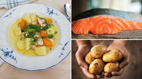 The Classic and Simple Finnish Salmon Soup